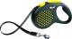 Поводок-рулетка Flexi Design 5m (L, желтый, ременной) -