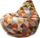 Бескаркасное кресло Flagman Макси Г2.4-06 (ромбик 04) -