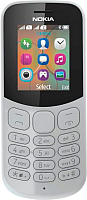 Мобильный телефон Nokia 130 Dual 2017 (серый) -