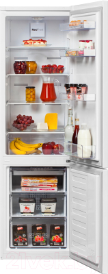 Холодильник с морозильником Beko RCNK310K20W