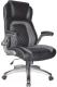 Кресло офисное Седия Tramp Eco (черный/серый) -