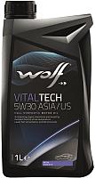Моторное масло WOLF VitalTech 5W30 D1 / 16115/4 (4л) -