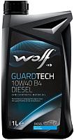 Моторное масло WOLF Guardtech B4 Diesel 10W40 / 23126/1 (1л) -