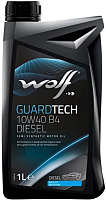 Моторное масло WOLF Guardtech B4 10W40 / 23127/1 (1л) -
