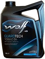 Моторное масло WOLF Guardtech B4 10W40 / 23127/4 (4л) -