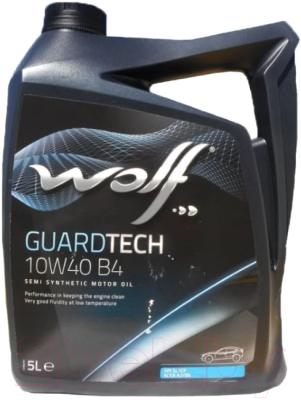 Моторное масло WOLF Guardtech B4 10W40 / 23127/5 (5л)