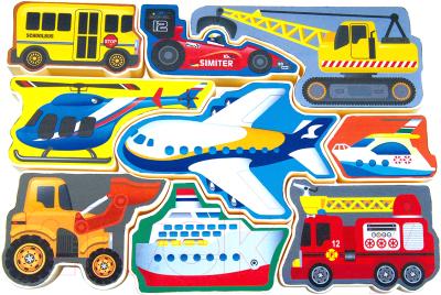 Развивающая игрушка PlayGo Пазл Техника 1995