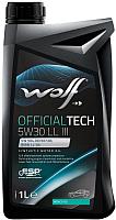 Моторное масло WOLF OfficialTech 5W30 LL III / 65604/1 (1л) -