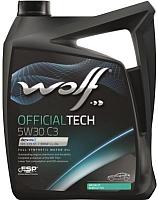 Моторное масло WOLF OfficialTech 5W30 C3 / 65607/5 (5л) -