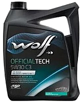 Моторное масло WOLF OfficialTech 5W30 C3 / 65607/4 (4л) -