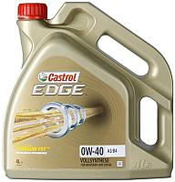 Моторное масло Castrol Edge 0W40  / 156E8C (4л) -