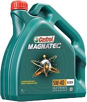 Моторное масло Castrol Magnatec 5W40 A3/B4 / 156E9E/15C9E0 (4л) -