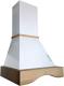 Вытяжка купольная Ciarko Andorra 60 (белый) -