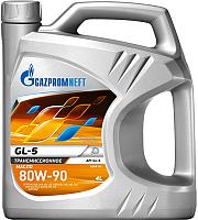 Трансмиссионное масло Gazpromneft GL-5 80W90 / 2389901362 (4л) -