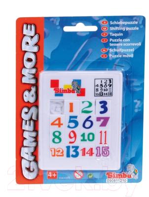 Игра-головоломка Simba Пятнашки Цифры (106046381)