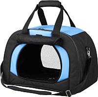 Сумка для животных Trixie Kilian 28952 (черный/синий) -