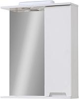 Шкаф с зеркалом для ванной Юввис Марко Z-1 60 (правый) -