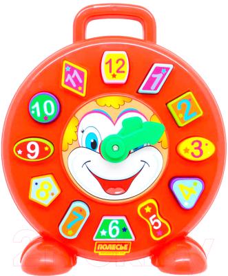 Развивающая игрушка Полесье Часы Клоун / 62741