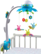 Мобиль на кроватку Smoby Цветок 211374 (голубой) -