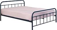 Полуторная кровать Halmar Linda 120x200 (черный) -