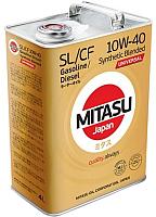 Моторное масло Mitasu Universal SL/CF 10W40 / MJ-125-4 (4л) -