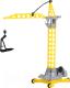 Кран игрушечный Полесье Агат на колесиках большой / 57167 -
