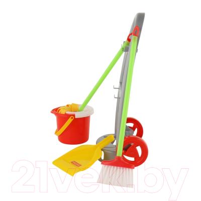 Набор хозяйственный игрушечный Полесье Чистюля-мини / 42910