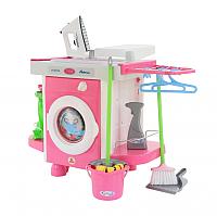 Комплект бытовой техники игрушечный Полесье Carmen №5 с аксессуарами / 48103 (в пакете) -