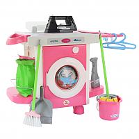 Комплект бытовой техники игрушечный Полесье Carmen №5 с аксессуарами / 58843 (в коробке) -