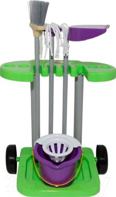 Набор хозяйственный игрушечный Полесье Помощница №3 / 48271