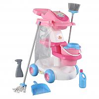 Набор хозяйственный игрушечный Полесье Помощница №4 / 54524 (в пакете) -