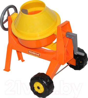 Бетономешалка игрушечная Полесье Бетономешалка-мини / 56542
