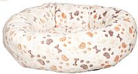 Лежанка для животных Trixie Lingo 37686 (белый/бежевый) -