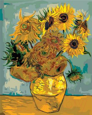 Картина по номерам Picasso Подсолнухи (Ван Гог) (PC4050267)