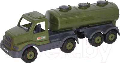 Автомобиль игрушечный Полесье Автомобиль военный с полуприцепом-цистерной Сталкер / 49216
