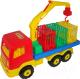 Автомобиль игрушечный Полесье Автомобиль для перевозки зверей Престиж / 44204 -