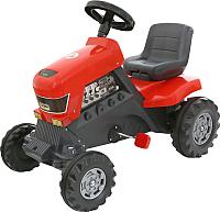 Каталка детская Полесье Turbo Трактор с педалями / 52674 -
