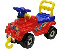 Каталка детская Полесье Джип 4х4 / 62796 (красный) -