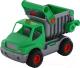 Самосвал игрушечный Полесье КонсТрак / 0575 (зеленый, в сеточке) -