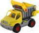 Самосвал игрушечный Полесье КонсТрак / 0407 (желтый, в сеточке) -