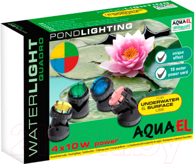 Набор светильников для пруда Aqua Sphere Waterlight Quadro / 100497