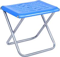 Табурет складной Ника С пластиковым сиденьем / ПСП4 (синий) -
