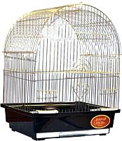 Клетка для птиц Золотая клетка A100G (золотистый) -