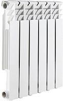 Радиатор алюминиевый Rommer Optima 500 (4 секции) -
