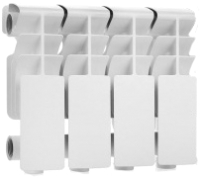Радиатор алюминиевый Rommer Plus 200 (4 секции) -