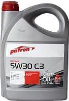 Моторное масло Patron Original 5W30 C3 / MB 229.51/229.52 (5л) -