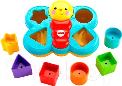 Развивающая игрушка Fisher-Price Сортер Бабочка / CDC22