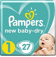 Подгузники детские Pampers New Baby-Dry 1 Newborn (27шт) -