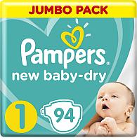Подгузники детские Pampers New Baby-Dry 1 Newborn (94шт) -
