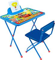 Комплект мебели с детским столом Ника Д1П/Т Disney 1. Тачки -
